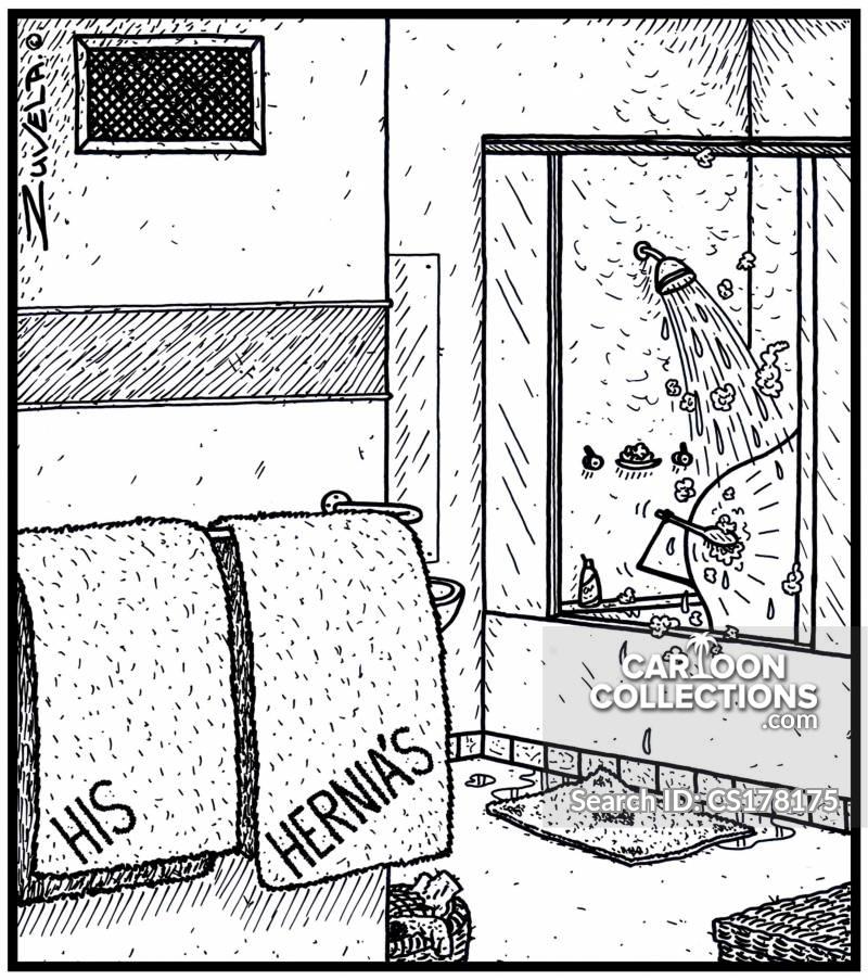 protruding cartoon