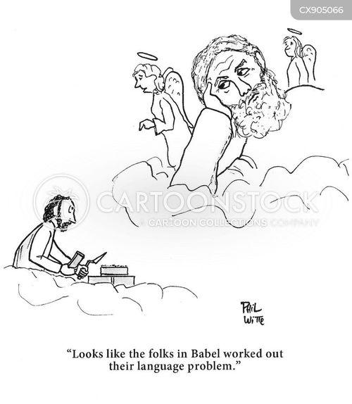 translate cartoon