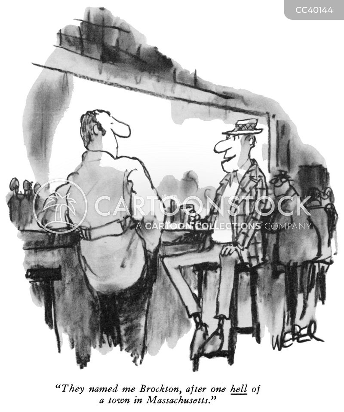 bar talk cartoon