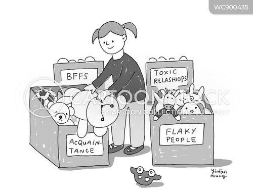flaky cartoon