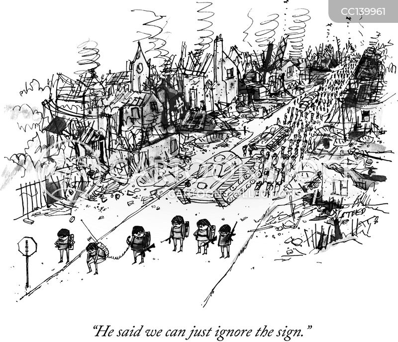 war zones cartoon
