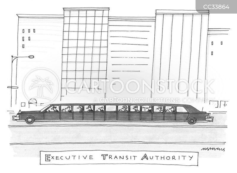 transit authorities cartoon