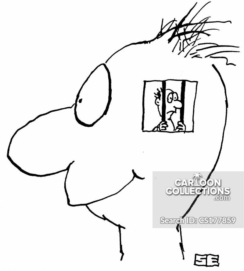 voice in my head cartoon
