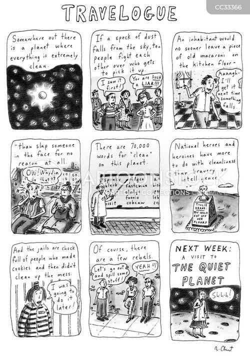alternate universe cartoon