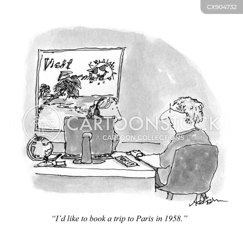 time travel cartoon