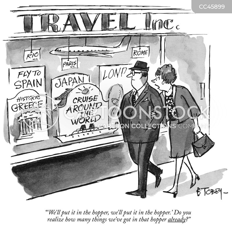 dream holidays cartoon