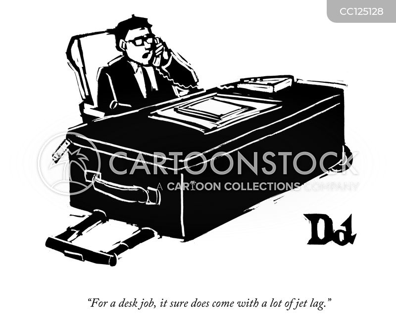 Overwork cartoon
