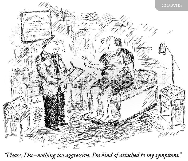 diagnosis cartoon