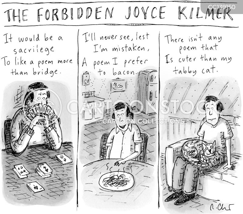 joyce kilmer cartoon