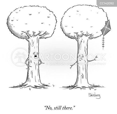 talking trees cartoon