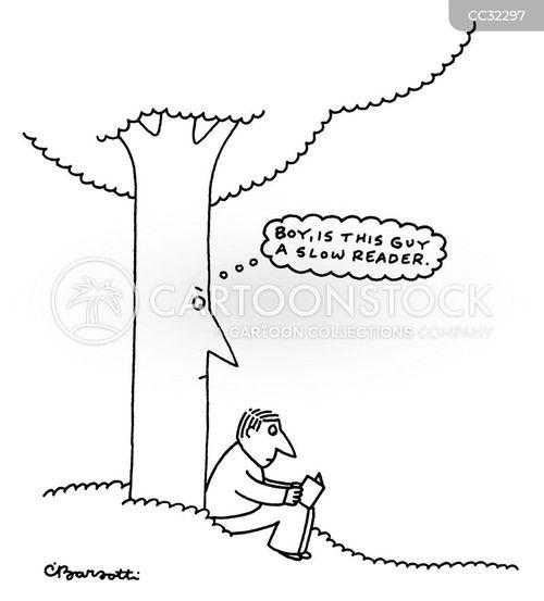 thinking cartoon