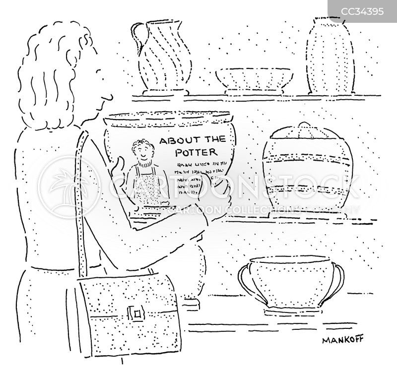 Clay Pot cartoon