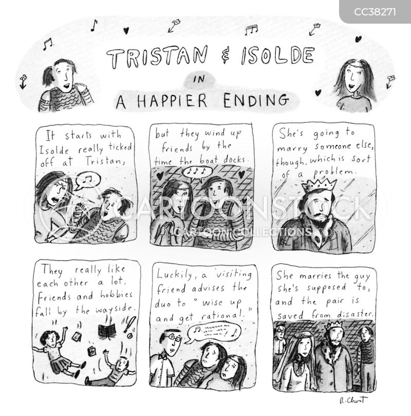 tragic endings cartoon