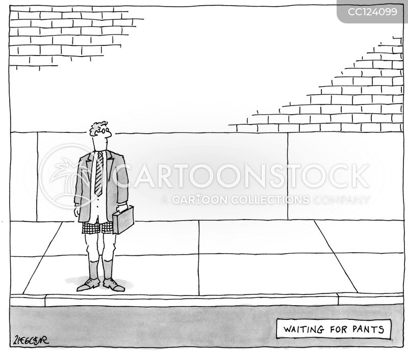 wait list cartoon