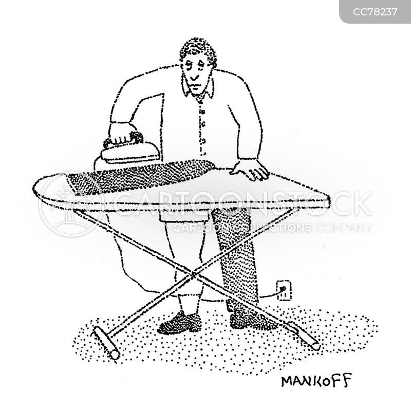ironing board cartoon