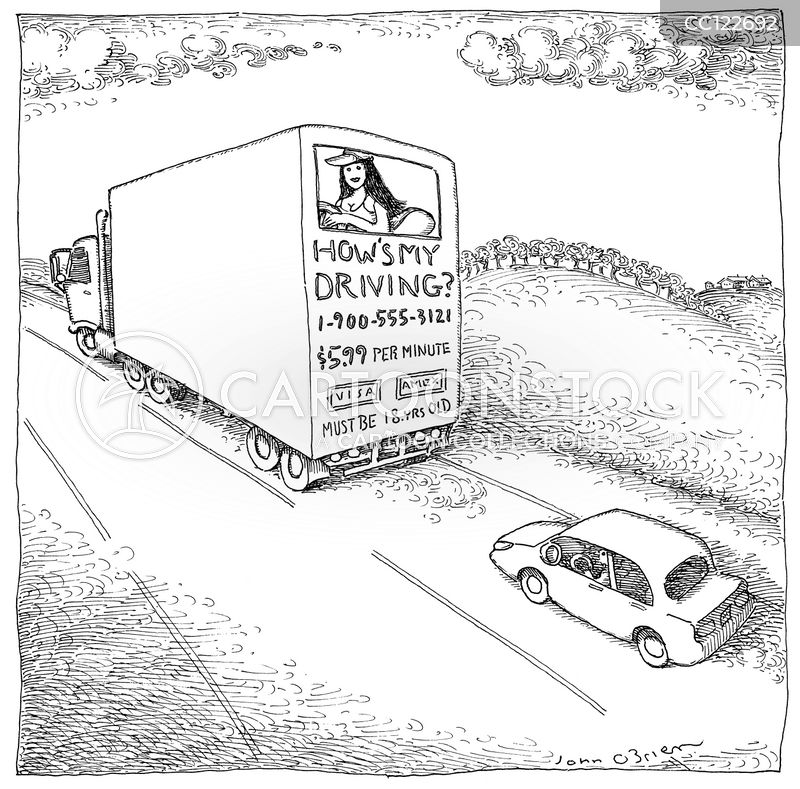 trucks cartoon