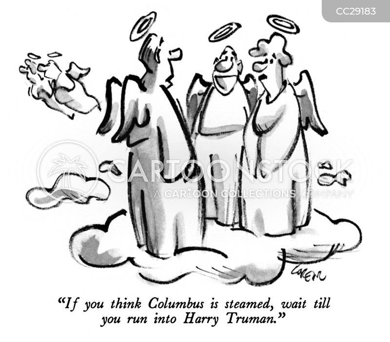 Columbus Day cartoon