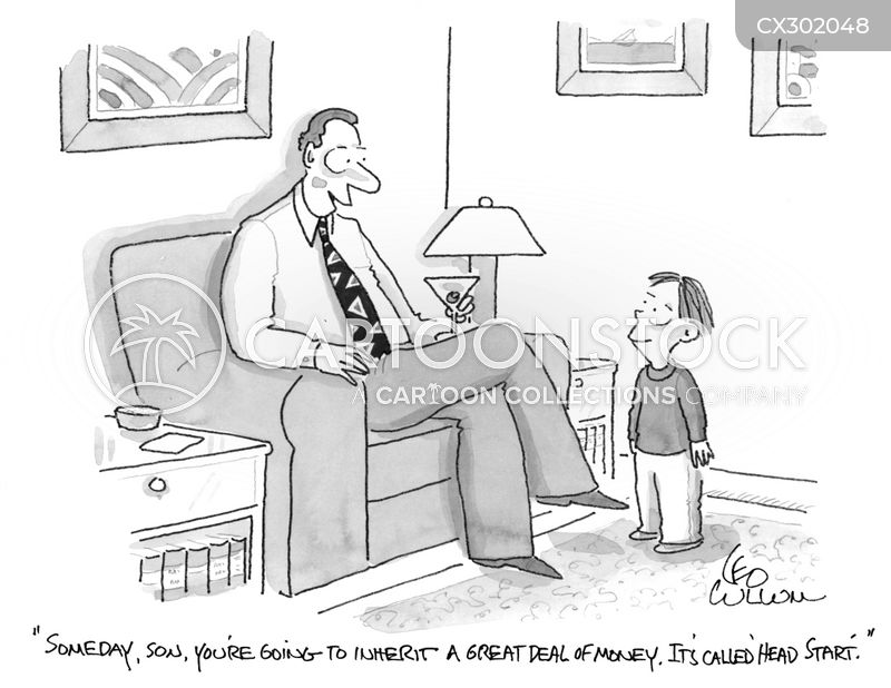 trust fund baby cartoon