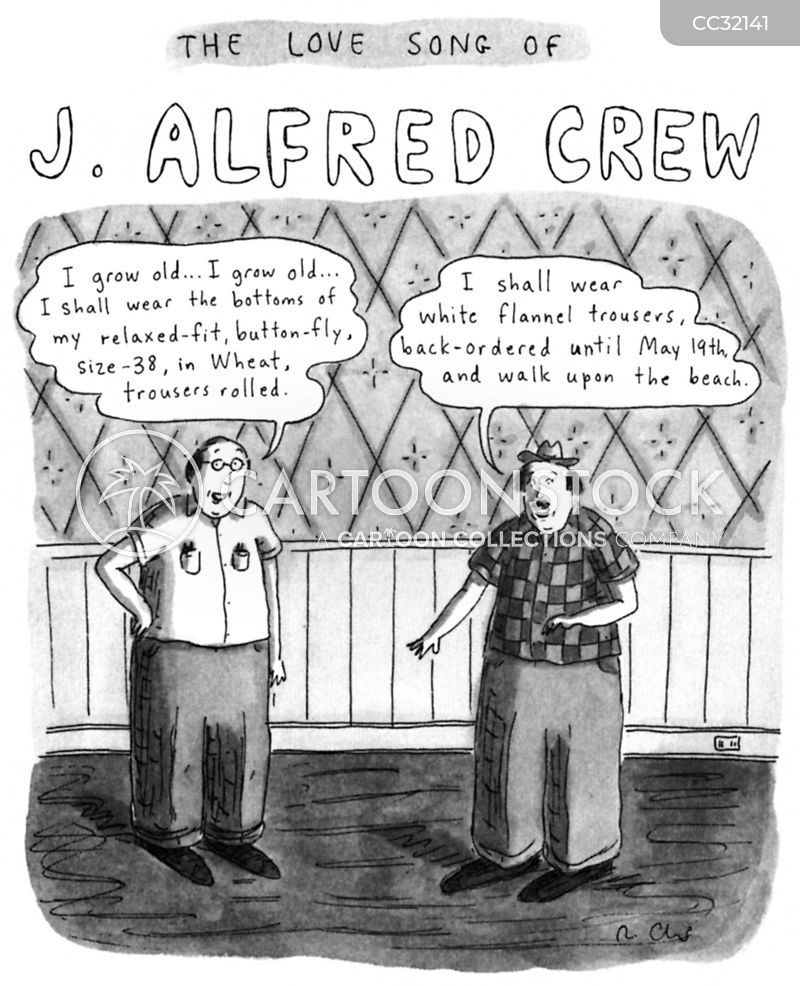 J. Crew cartoon