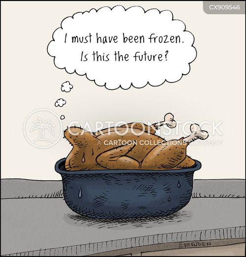 thawing cartoon