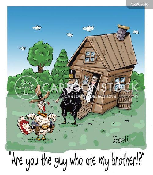 pioneers cartoon