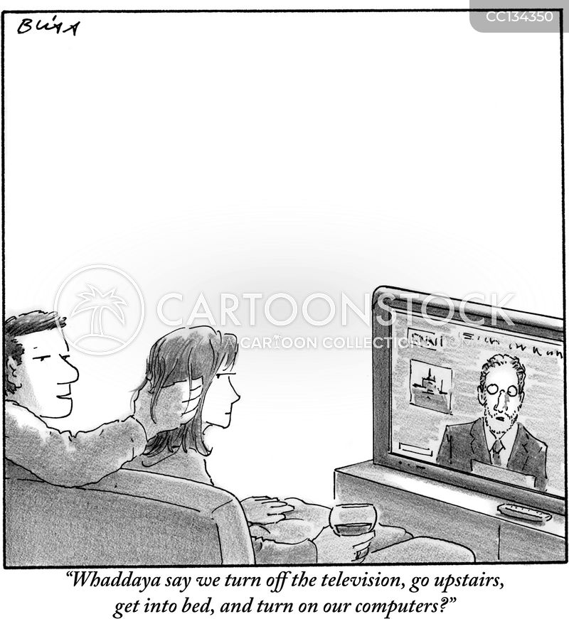 Technologies cartoon