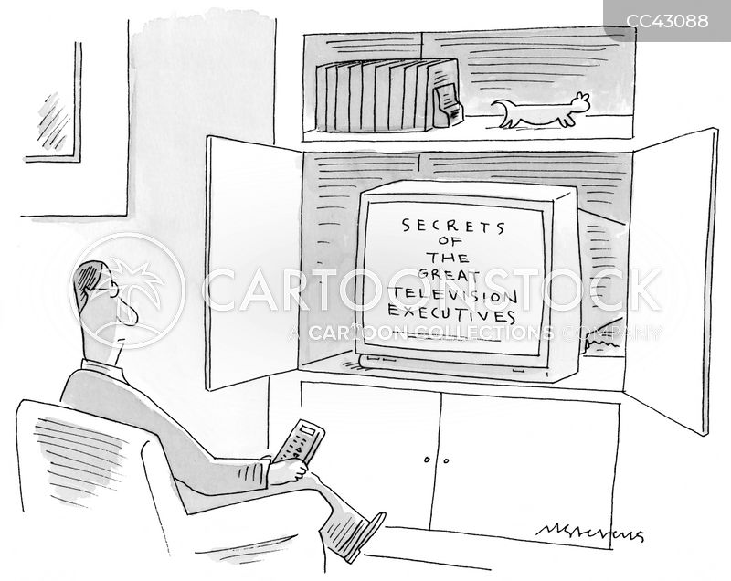 tv executive cartoon