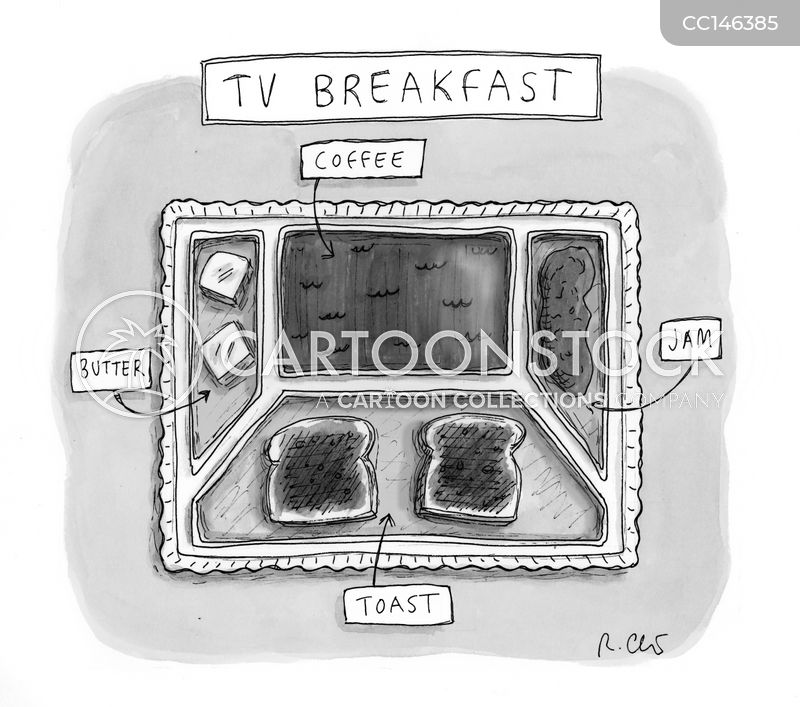 tv dinner cartoon