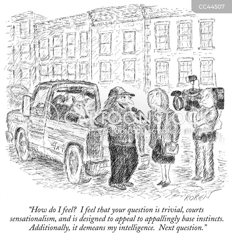 vox pop cartoon