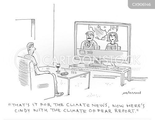 environmental disaster cartoon