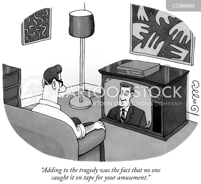 violence on tv cartoon