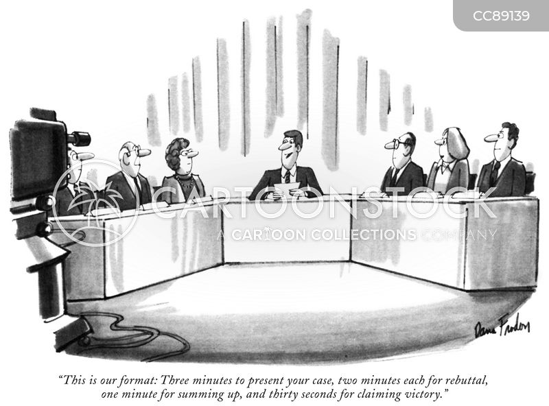 panel show cartoon