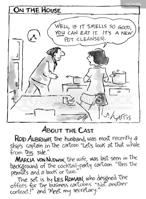 cast cartoon