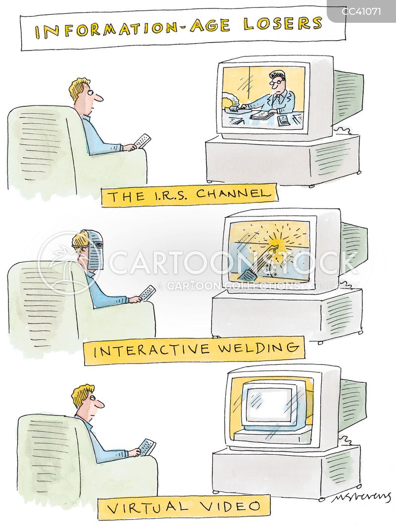 virtual world cartoon