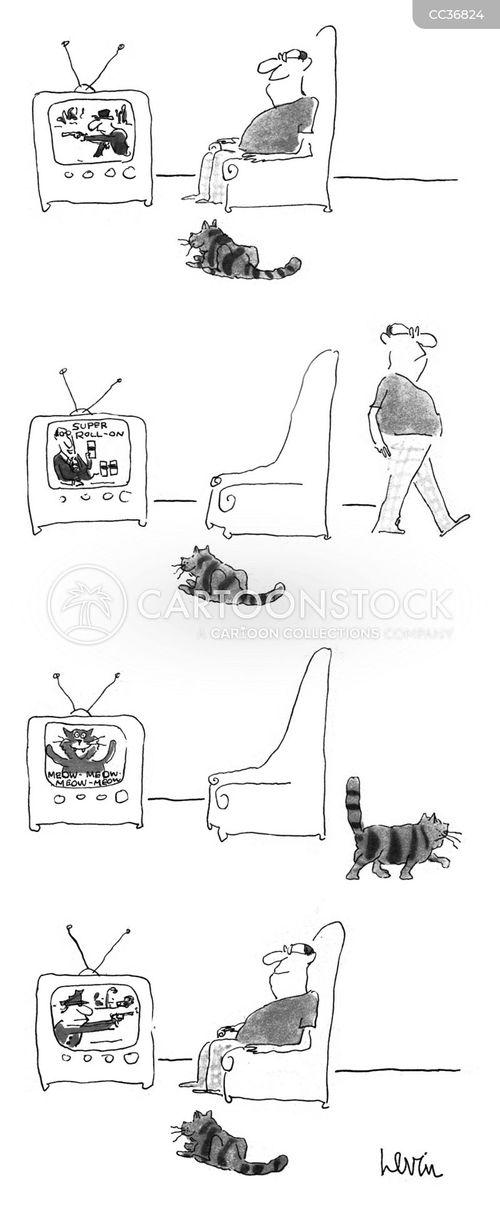 walk away cartoon