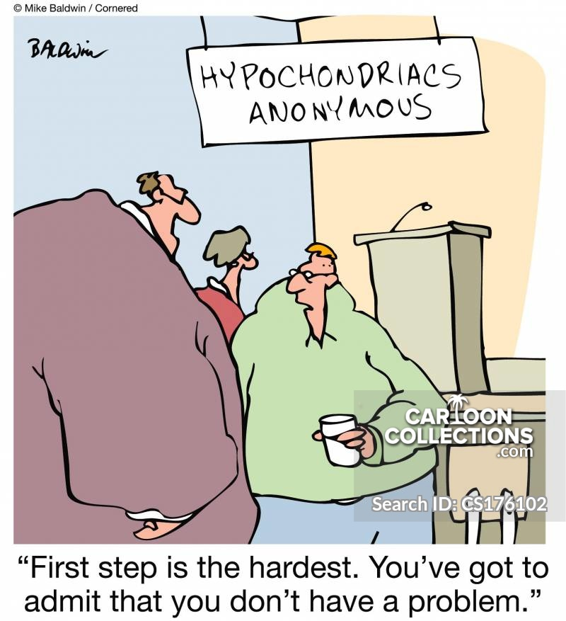 hypochondriacs anonymous cartoon