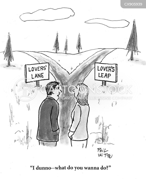 indecisiveness cartoon