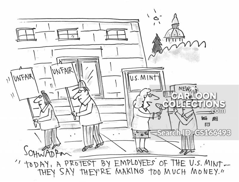 american mint cartoon