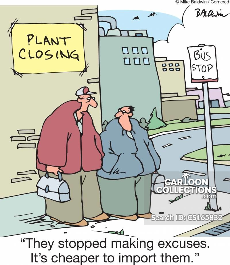 company closures cartoon