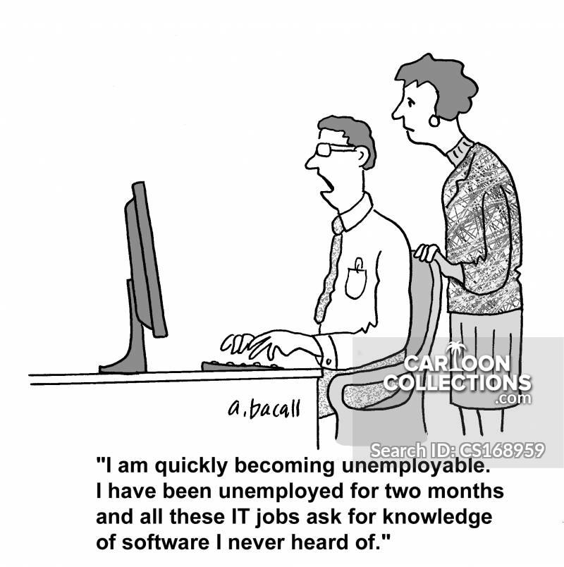 computer industry cartoon