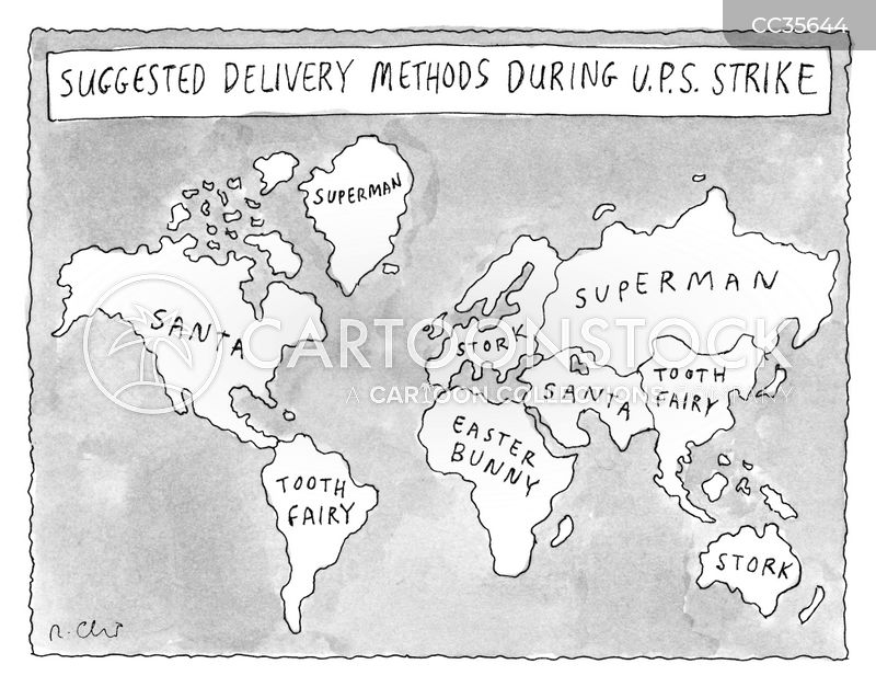 deliveries cartoon