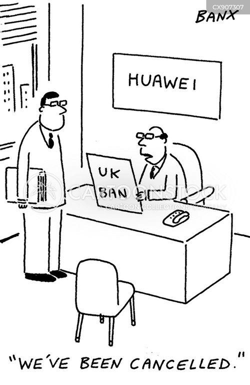 prohibited cartoon
