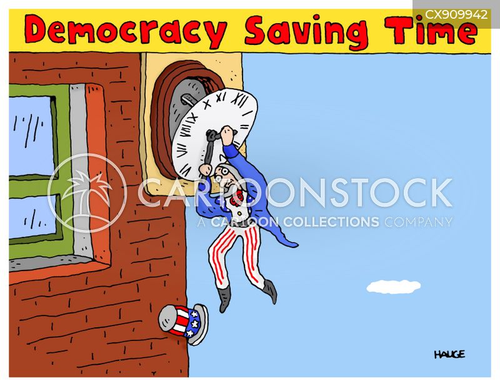 agreeing cartoon