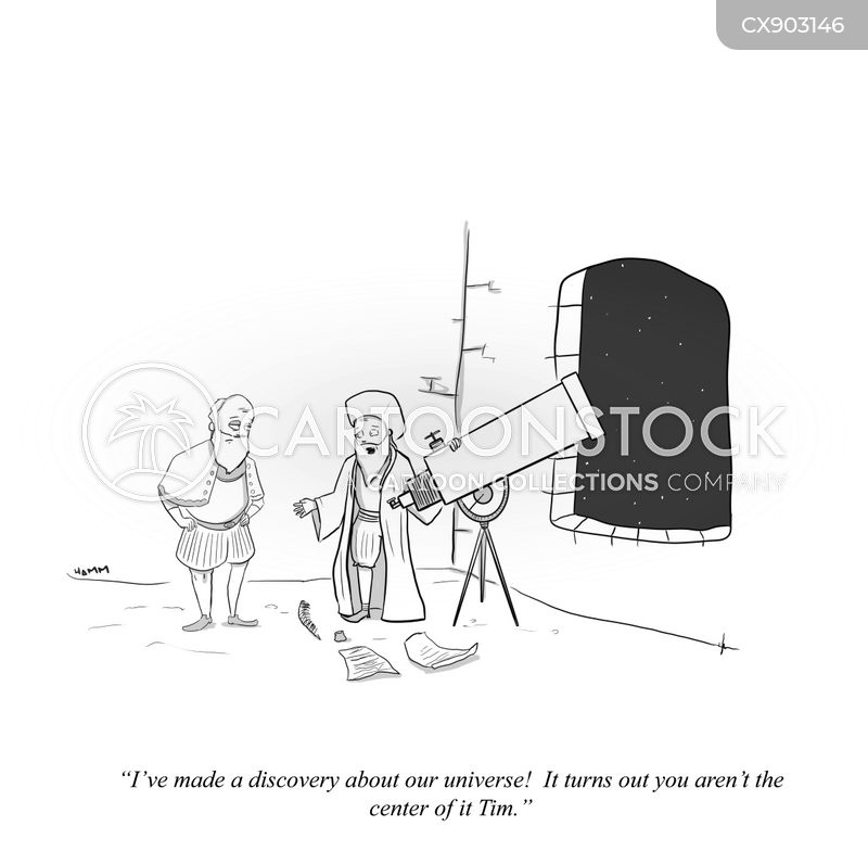 observatories cartoon