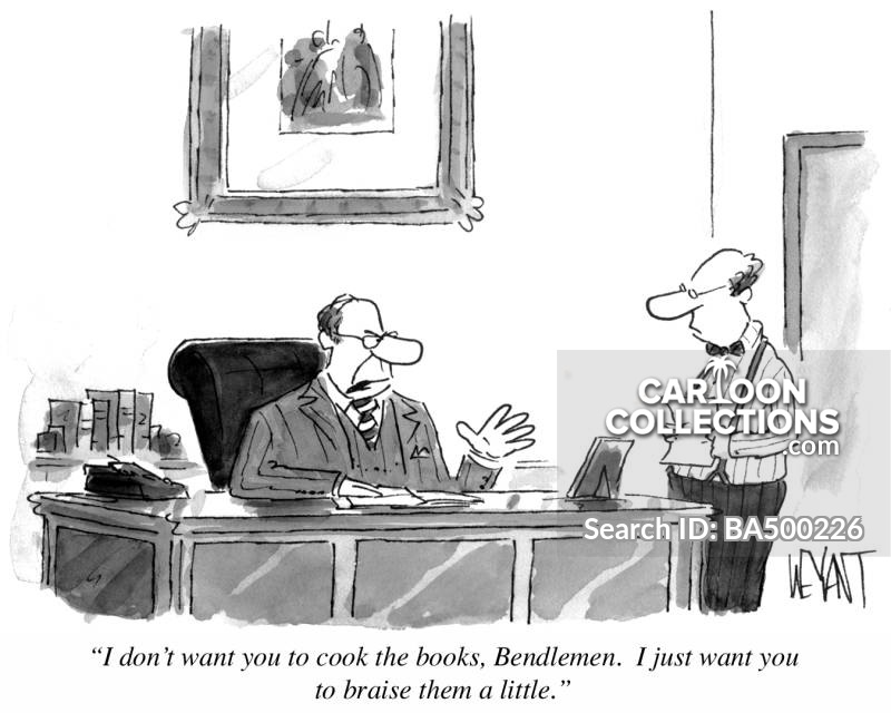 cook the books cartoon