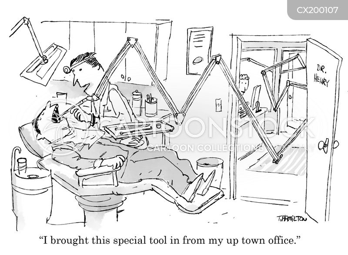 dental procedures cartoon