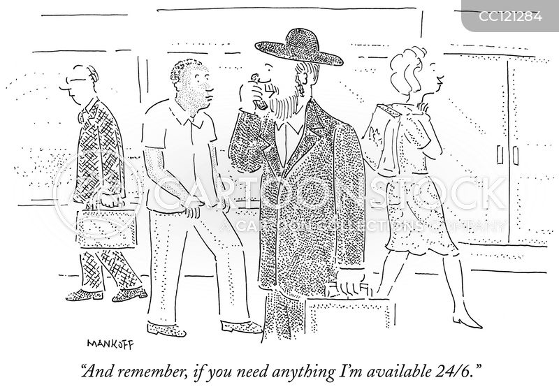 keeping kosher cartoon