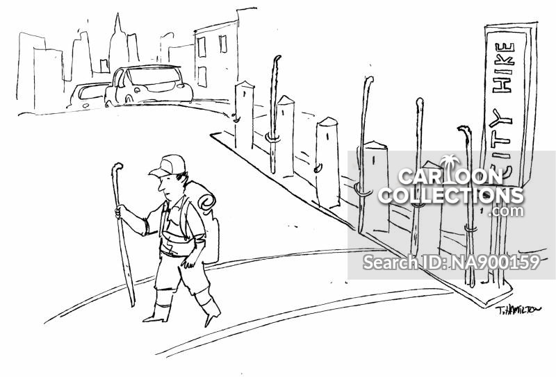 walking stick cartoon