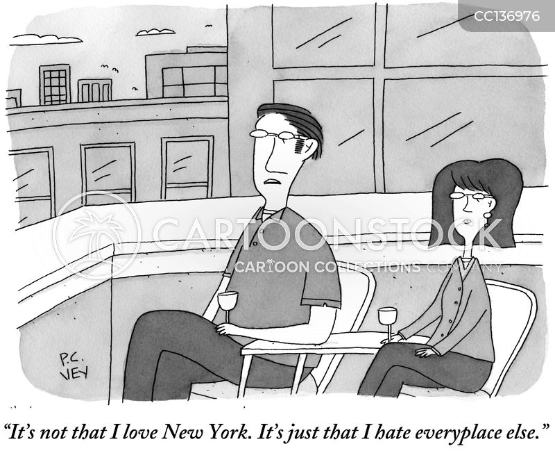 i love new york cartoon