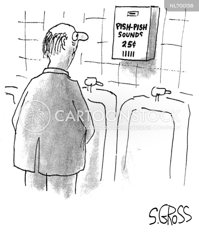 washing closet cartoon